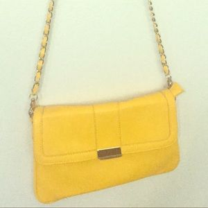 Sun yellow crossbody interchangeably handbag 👝